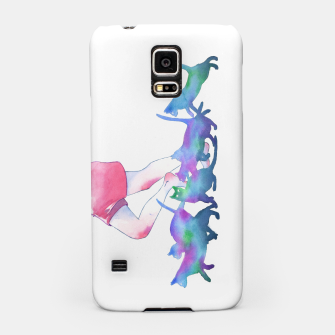 Thumbnail image of summer rain Samsung Case, Live Heroes