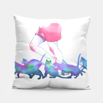 Thumbnail image of summer rain Pillow, Live Heroes