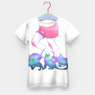 Thumbnail image of summer rain Kid's t-shirt, Live Heroes