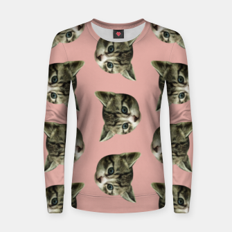 Thumbnail image of Kitty kat  Women sweater, Live Heroes