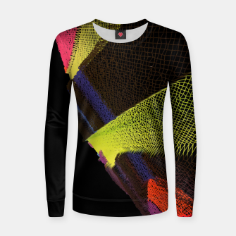 Thumbnail image of neon Women sweater, Live Heroes