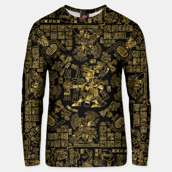 Thumbnail image of Mayan Spring GOLD Unisex sweater, Live Heroes