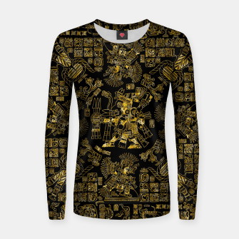 Mayan Spring GOLD Women sweater thumbnail image