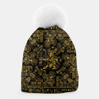 Thumbnail image of Mayan Spring GOLD Beanie, Live Heroes