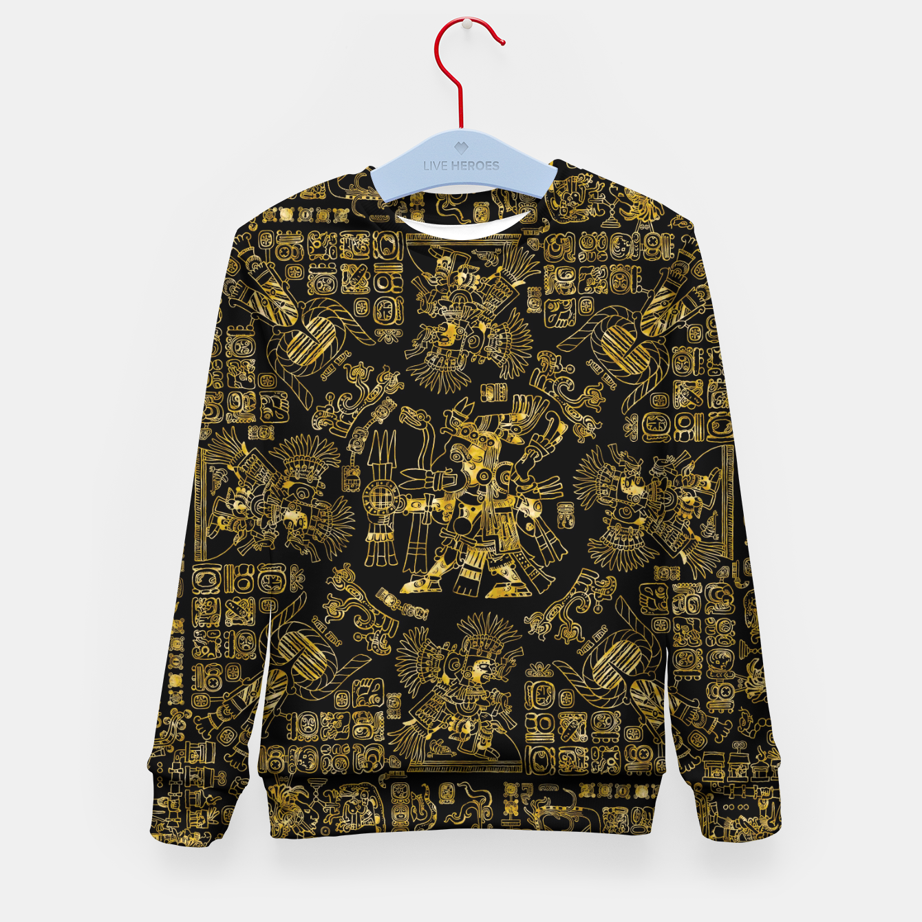Image of Mayan Spring GOLD Kid's sweater - Live Heroes