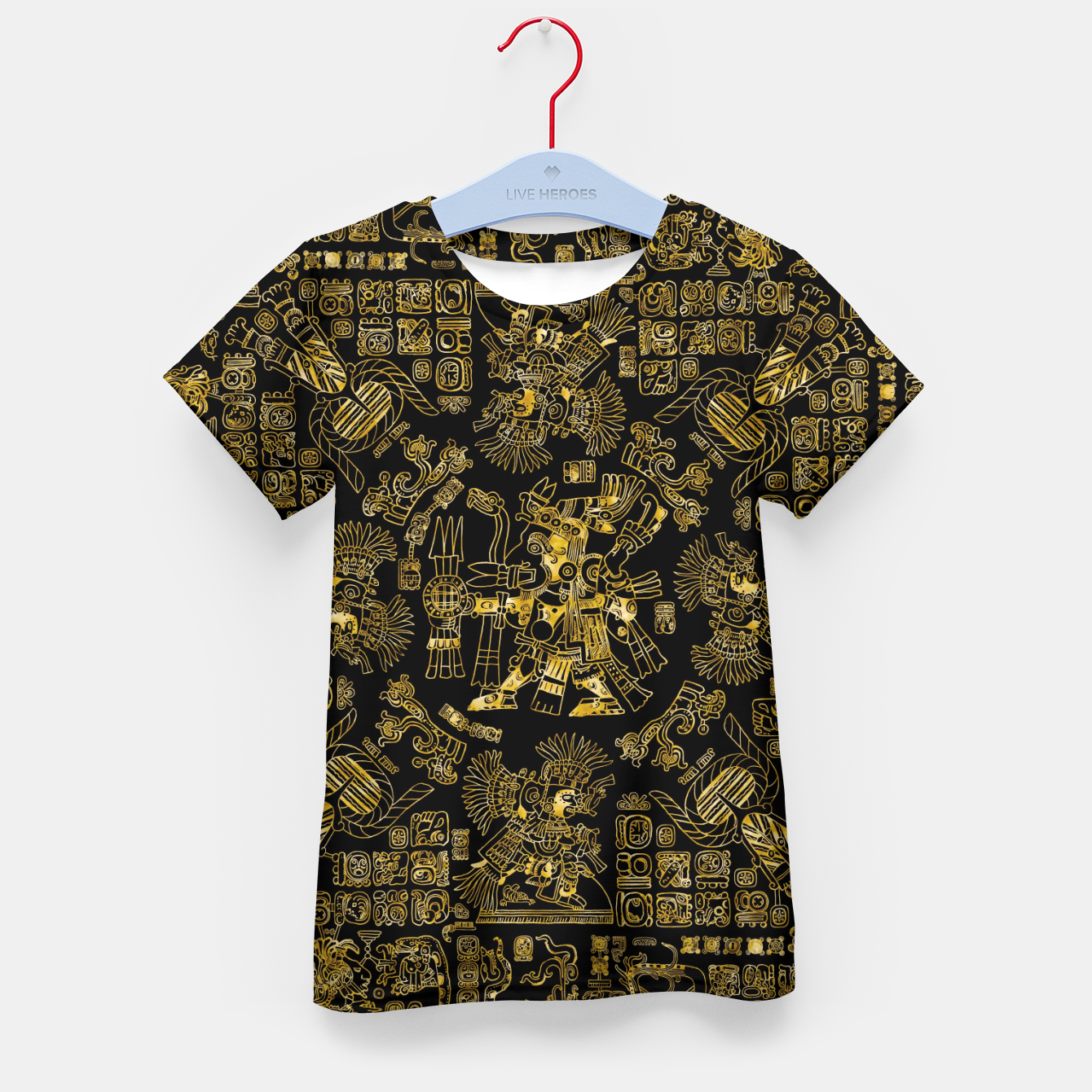 Image of Mayan Spring GOLD Kid's t-shirt - Live Heroes