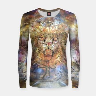 Thumbnail image of Lion balance Women sweater, Live Heroes