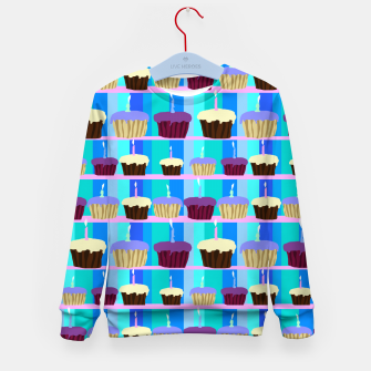 Thumbnail image of Birthday Cupcakes Kid's sweater, Live Heroes