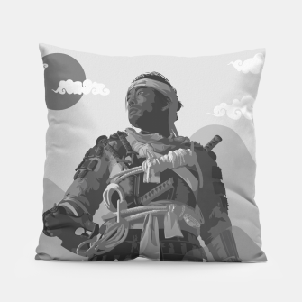 Thumbnail image of Ghost of Tsushima Black & White Variant Pillow, Live Heroes