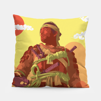 Thumbnail image of Ghost of Tsushima Pillow, Live Heroes