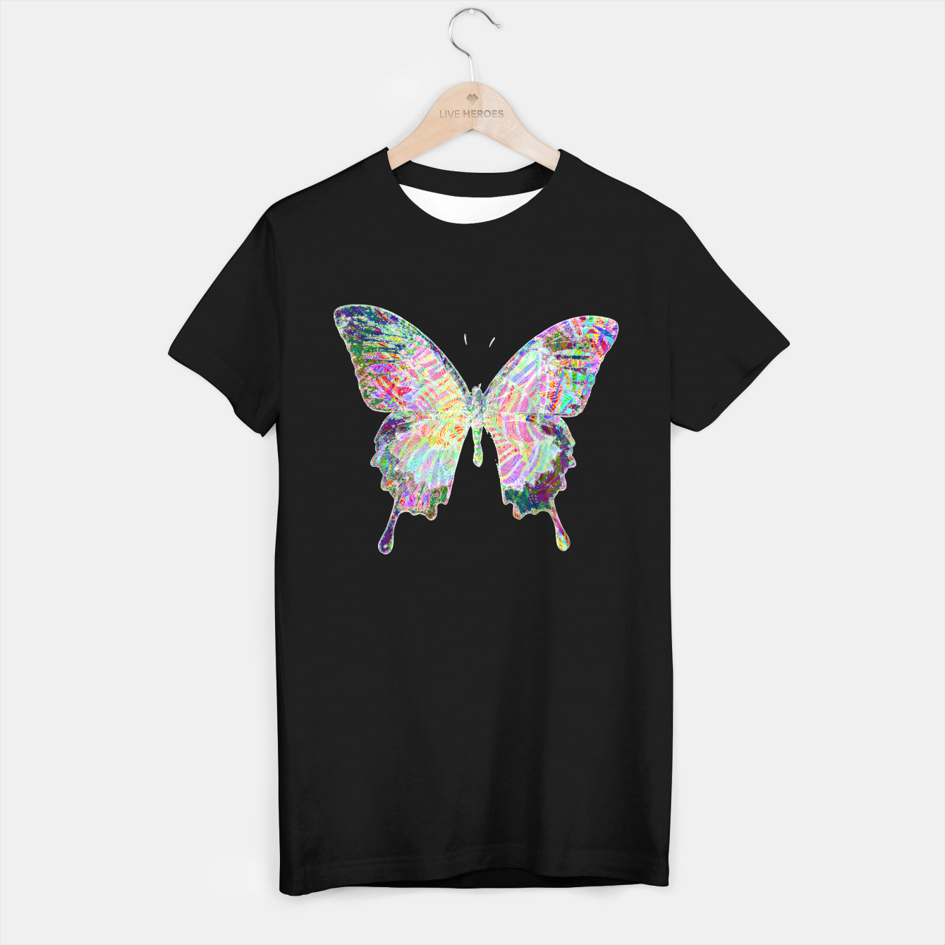 Image of Butterfly T-shirt regular - Live Heroes