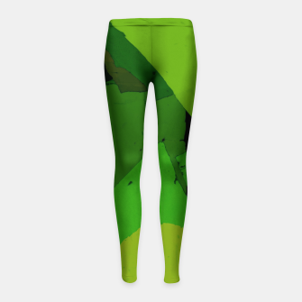 Thumbnail image of Dark room Girl's leggings, Live Heroes