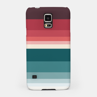 Miniature de image de HORIZON STRIPE IN RED & TEAL Samsung Case, Live Heroes