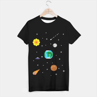 Miniaturka galaxy T-shirt regular, Live Heroes