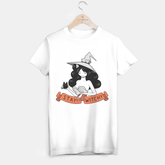 Thumbnail image of Stay mad like Witchy Cat T-shirt regular, Live Heroes