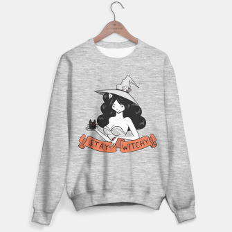 Thumbnail image of Stay mad like Witchy Cat Sweater regular, Live Heroes