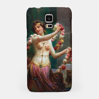 The Belly Dancer by Hans Zatzka Old Masters Reproduction Samsung Case obraz miniatury