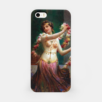 The Belly Dancer by Hans Zatzka Old Masters Reproduction iPhone Case obraz miniatury