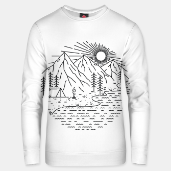 Miniaturka Beautiful Place for Camping Unisex sweater, Live Heroes