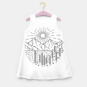 Miniaturka Beautiful Place Girl's summer dress, Live Heroes