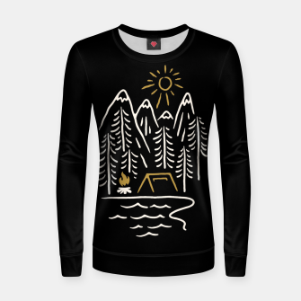 Thumbnail image of Wild and Relax Women sweater, Live Heroes