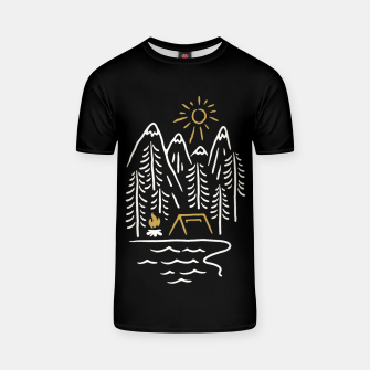 Thumbnail image of Wild and Relax T-shirt, Live Heroes