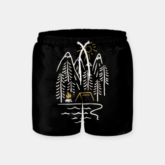 Thumbnail image of Wild and Relax Swim Shorts, Live Heroes