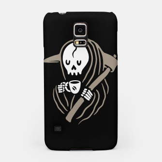Thumbnail image of Grim Reaper Love Coffee Samsung Case, Live Heroes