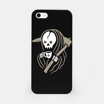 Thumbnail image of Grim Reaper Love Coffee iPhone Case, Live Heroes