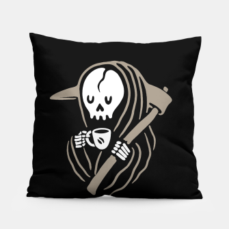 Thumbnail image of Grim Reaper Love Coffee Pillow, Live Heroes