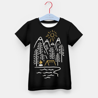 Thumbnail image of Wild and Relax Kid's t-shirt, Live Heroes