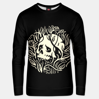 Thumbnail image of Skull Plants Unisex sweater, Live Heroes