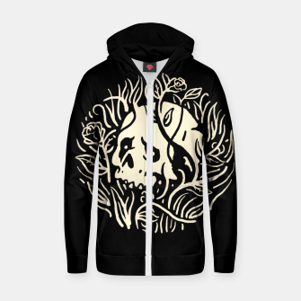 Thumbnail image of Skull Plants Zip up hoodie, Live Heroes
