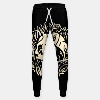 Thumbnail image of Skull Plants Sweatpants, Live Heroes