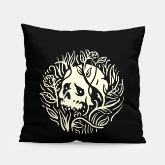 Thumbnail image of Skull Plants Pillow, Live Heroes