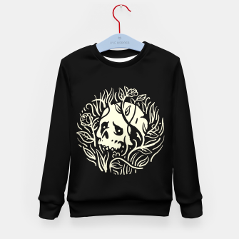 Thumbnail image of Skull Plants Kid's sweater, Live Heroes
