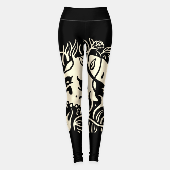 Thumbnail image of Skull Plants Leggings, Live Heroes