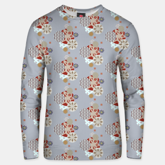 Thumbnail image of Japanese Snowflakes  Unisex sweater, Live Heroes