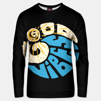 Miniatur Good Vibes and Wave Unisex sweater, Live Heroes