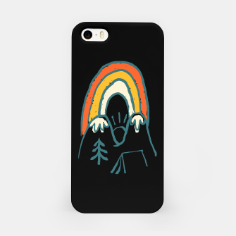 Miniatur Mountain and Rainbow iPhone Case, Live Heroes