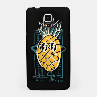 Thumbnail image of Pineapple Sunbathe Samsung Case, Live Heroes