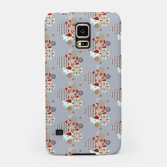 Thumbnail image of Japanese Snowflakes  Samsung Case, Live Heroes