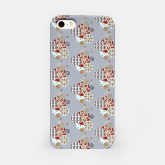 Thumbnail image of Japanese Snowflakes  iPhone Case, Live Heroes
