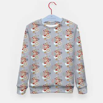 Thumbnail image of Japanese Snowflakes  Kid's sweater, Live Heroes