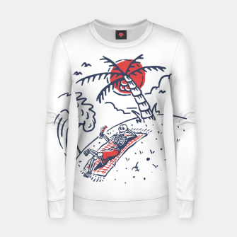 Thumbnail image of Relax Skeleton Women sweater, Live Heroes