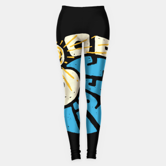 Miniatur Good Vibes and Wave Leggings, Live Heroes