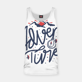 Thumbnail image of Adventure Typo Tank Top, Live Heroes