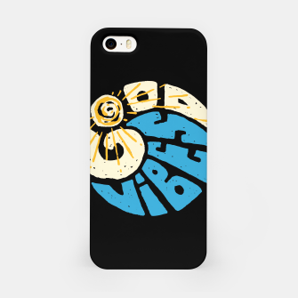 Miniatur Good Vibes and Wave iPhone Case, Live Heroes