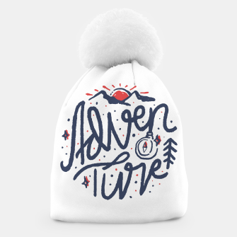 Thumbnail image of Adventure Typo Beanie, Live Heroes