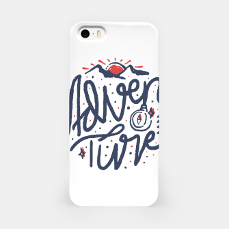 Thumbnail image of Adventure Typo iPhone Case, Live Heroes